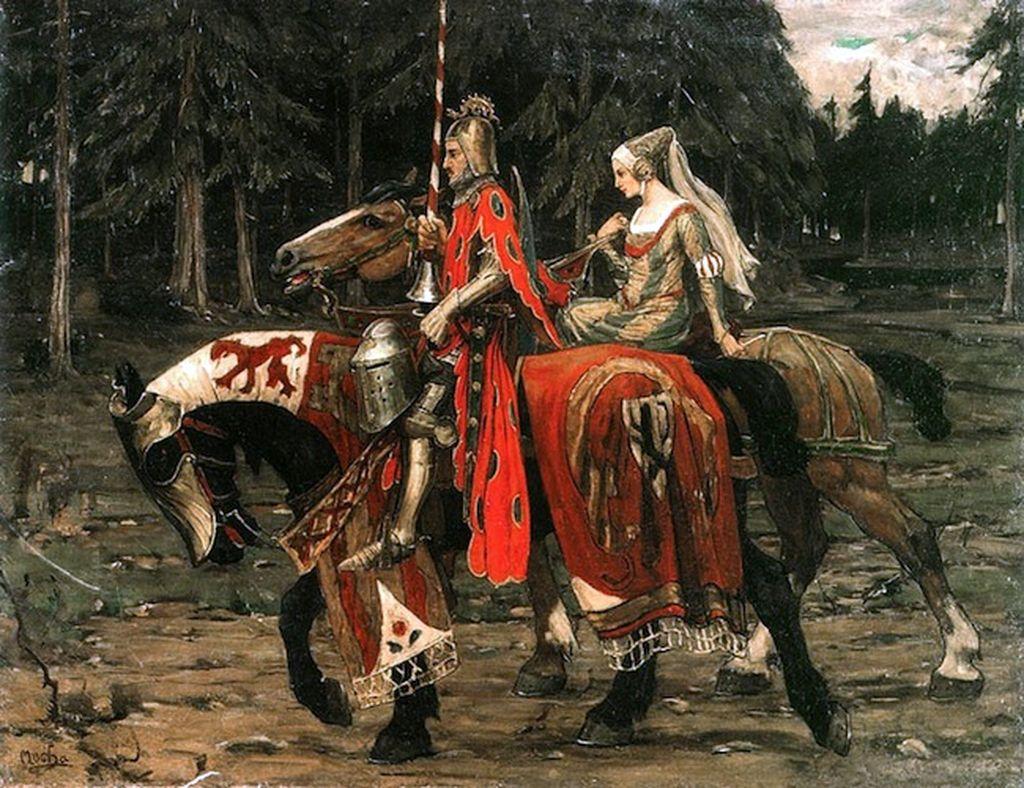 Открытки о средневековье